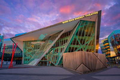 The Bord Gais Energy Theatre at Sunset (Luminosity Masks)