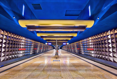 Olympia Einkaufszentrum Aurora HDR