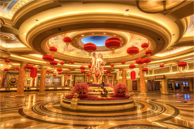 Caesars Palace Lobby Chinese New Year