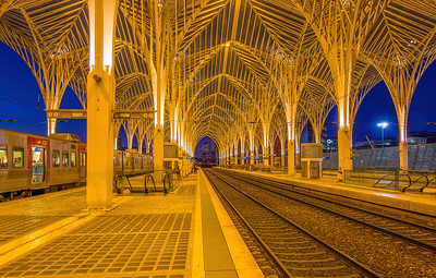 Gare do Oriente (Luminosity Masks)