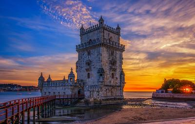 The Belém Tower Skylight (Luminosity Masks)