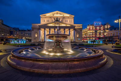 The Bolshoi Theatre Lightroom HDR Merge