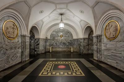 Park Kultury Metro Station (Oloneo Metro Station)