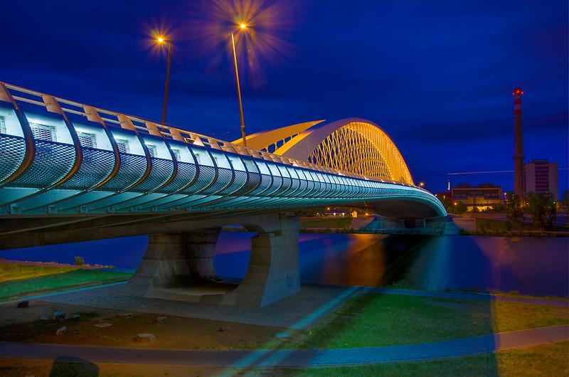 The Troja bridge
