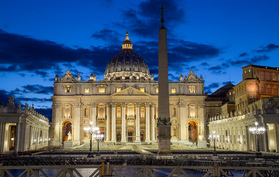 The Papal Basilica of St. Peter Lightroom