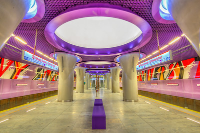 The Nowy Świat-Uniwersytet metro station