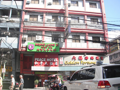 """Peace Hotel in Binondo, Manila's """"Chinatown"""" Reviewed May 23, 2012 by GOIloil  http://myphilippinelife.com/peace-hotel-in-binondo-manilas-chinatown-reviewed/  Peace Hotel Review. The Peace Hotel is located on Soler Street in Binondo, Manila's """"Chinatown"""".  It is perhaps the most deluxe of the economy hotels of Binondo and one of the best in Metro Manila.  The Peace Hotel is perfect for Chinese visitors doing business in Binondo and Manila.  https://www.instagram.com/p/Bh8FXyylFF3/?taken-by=goodnewsphilippines"""