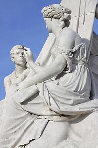 """""""Africa"""", Albert memorial, Hyde Park, London"""