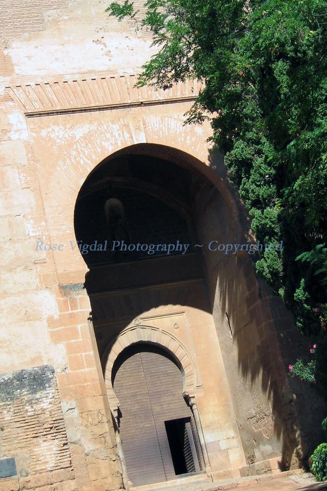 Side Entrance into Alhambra