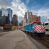 Chicago Metra Train #25