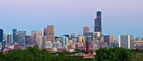 Chicago Skyline. #6