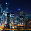Chicago at night. #4
