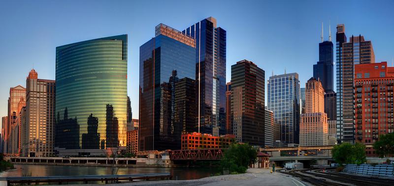 Chicago Skyline. #120