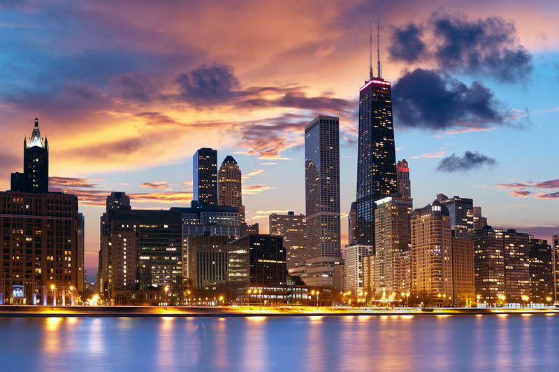 Chicago Skyline #61