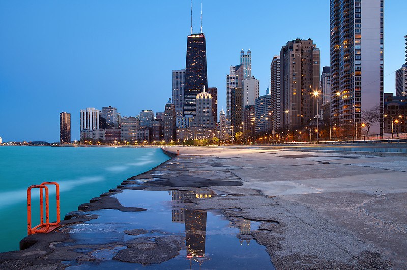 Chicago Blue Hour II #27