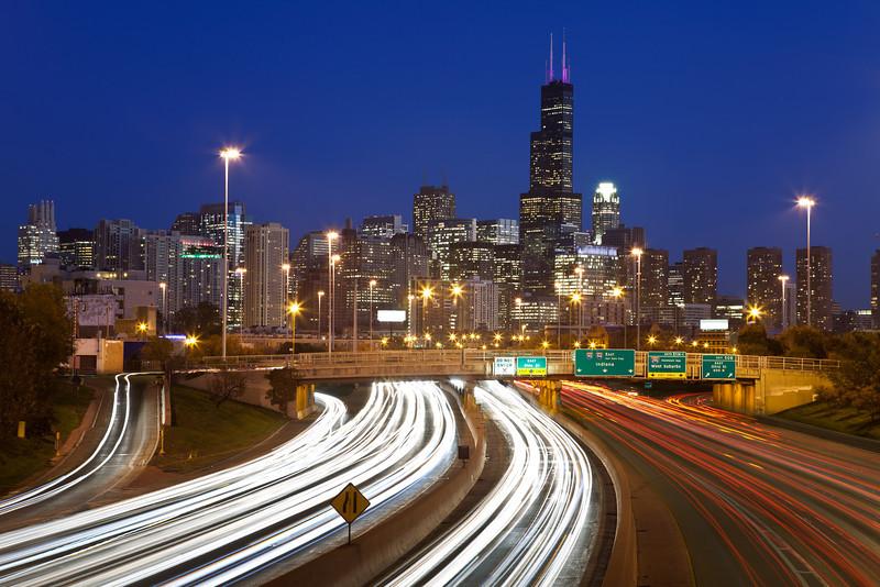 Chicago traffic. #55