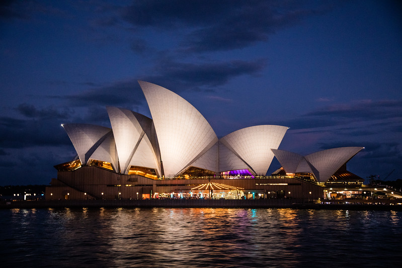 Sydney Opera House Twilight