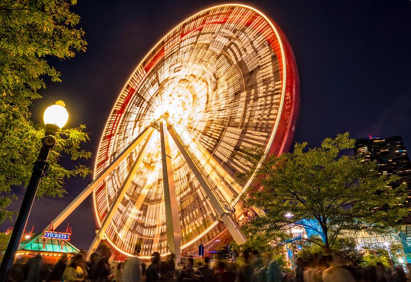 Navy Pier's Ferris Wheel's :Last Hurrah