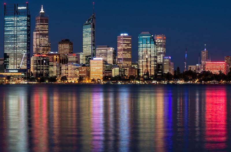 Perth Skyline @ Night