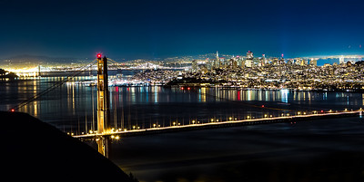 Golden Gate night