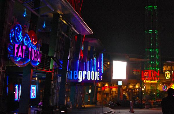 Citywalk, Universal Orlando, 2011
