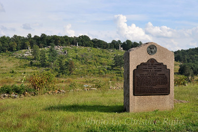 Little Round Top. Gettysburg National Military Park