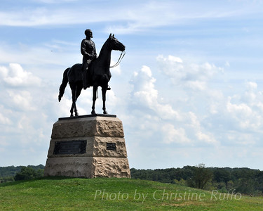General Meade statue, Gettysburg National Military Park