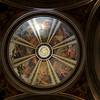 St. Ignacious side chapel ceiling.