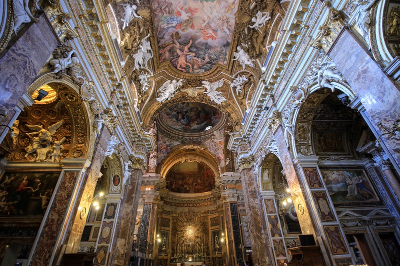 Santa Maria Vittoria. Construction began in 1605 and was completed in 1626.
