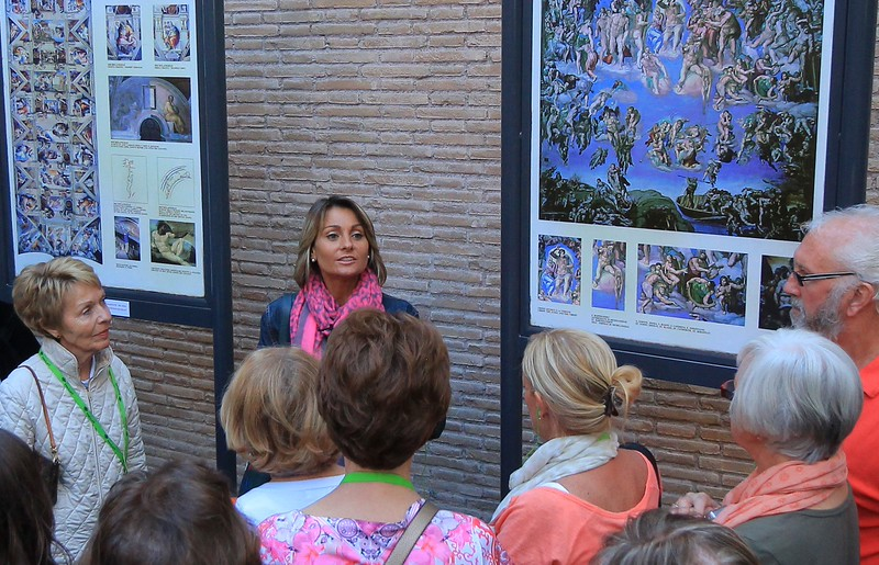 The same gracious, patient tour guide that showed us around Rome in August 2010, Alicia, was there again for us in May 2015.