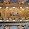 Ceiling of Chiesa Nuova. We spent a long time here and it was still hard to leave.