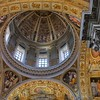 Dome closeup of Santa Maria Maggiore. This nave of this church is over 1600 years old.
