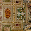 Vatican Museum ceiling.