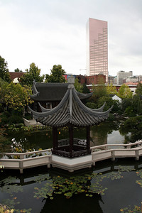 Chinese Garden, Portland, OR; 13 Oct 2008