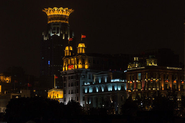 May 15 and 16 Shanghai- The Bund