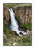 A view of Clear Creek Falls, just off State Hwy 149 in Colorado, south of Lake City.