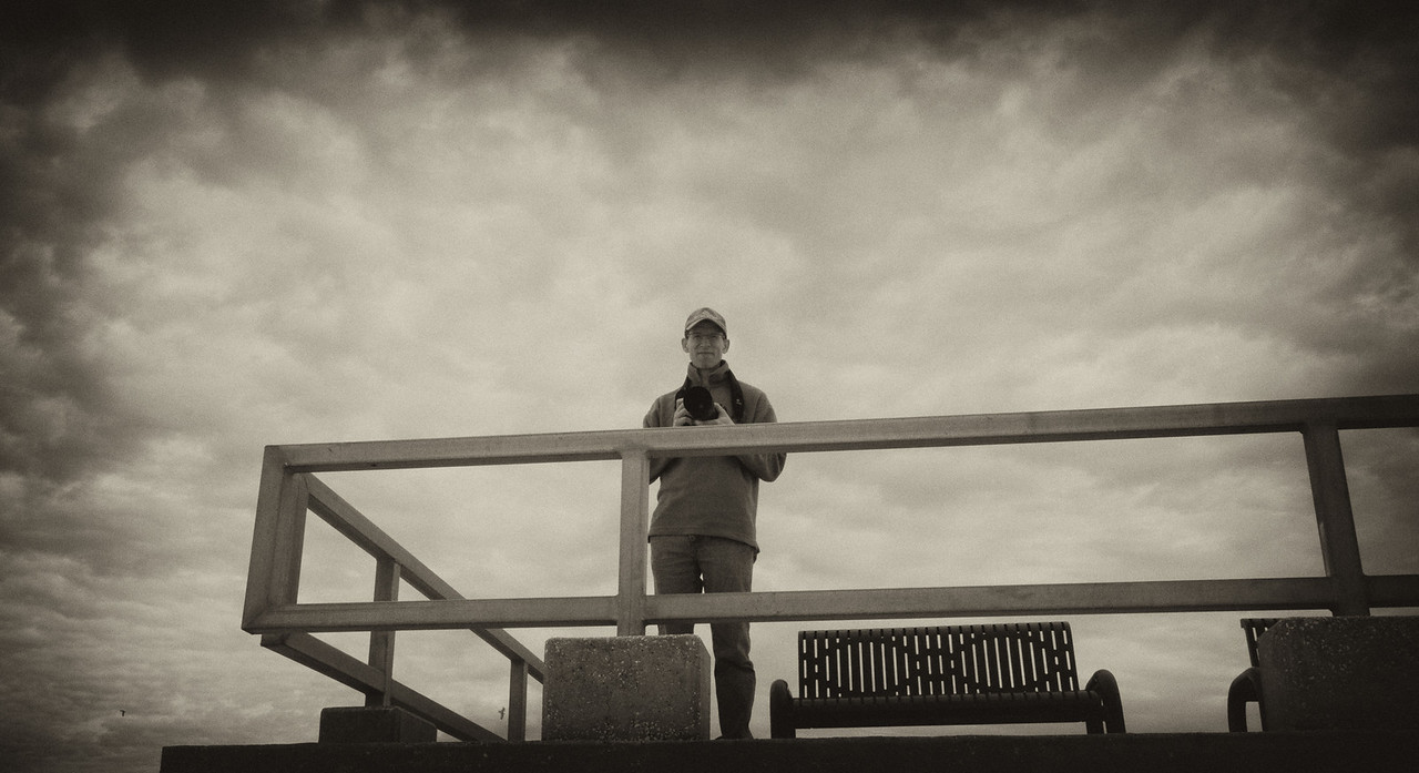 Mark on Pier.