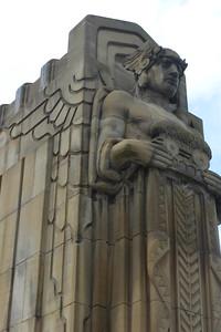 Part of the (William Henry) Hope Memorial Bridge (Guardians of Traffic)
