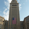 WHAT a view. The famous Terminal Tower building at the Cleveland Square.