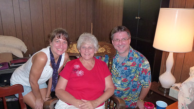 Diane, Mom and Mike