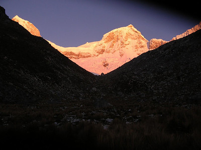 Sunrise on Mt. Rondoy