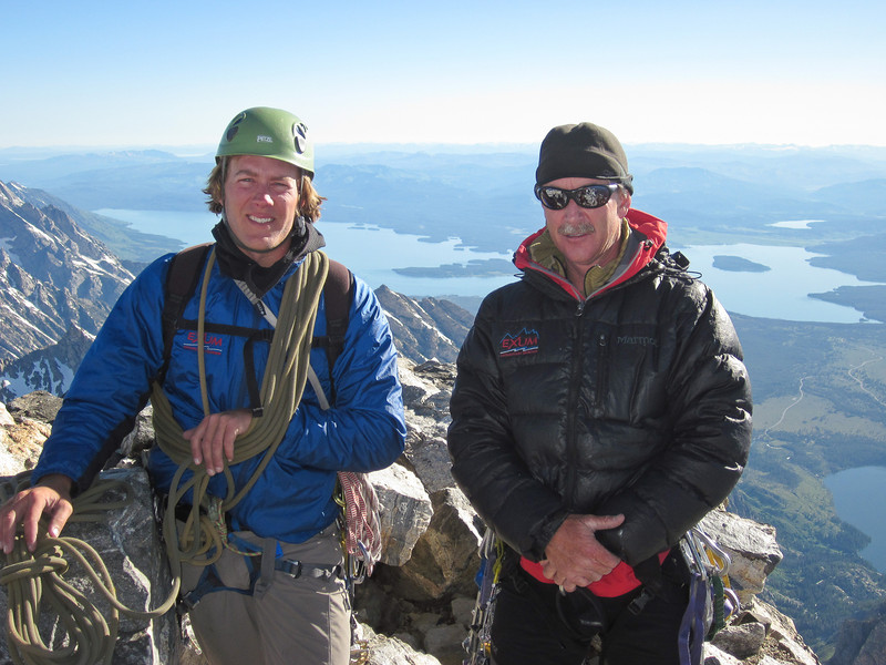 Our guides Eric Johnson and Dave Bowers.