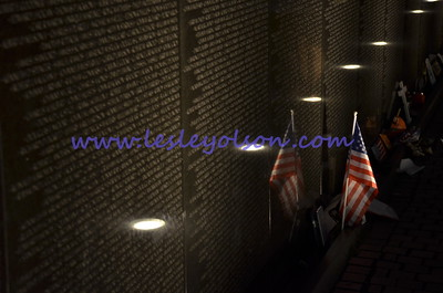 Vietnam Memorial in Washington DC