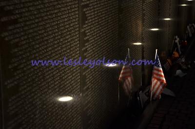 Vietnam Memorial in Washington DC