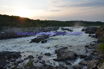 Great Falls, on the Potomac River, Maryland side.