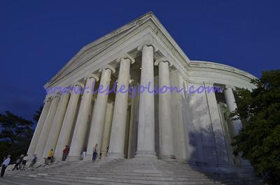 Jefferson Memorial in Washington DC