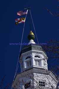 Top of Maryland's Capitol building in Annapolis