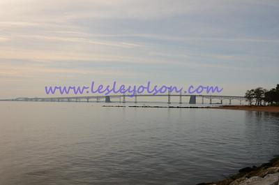 Chesapeake Bay bridge in Maryland