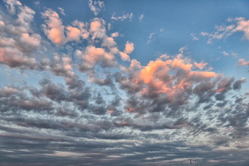 Clouds over the Okavango Delta, Botswana