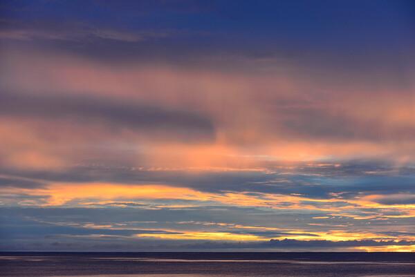 Sunset at Taveuni, Fiji